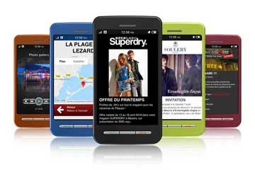 Landing page et SMS pro